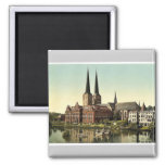 The cathedral and museum, Lubeck, Germany rare Pho