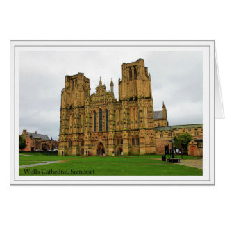 The Cathedral Church of St Andrew, Wells, Somerset Card