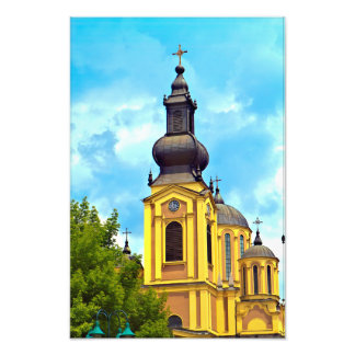 The Cathedral Church of the Nativity Sarajevo Photo Print