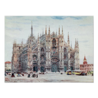 The Cathedral, Milan Poster