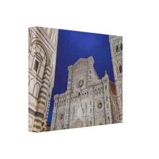 The Cathedral of Santa Maria del Fiore Canvas Print