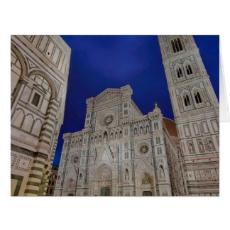 The Cathedral of Santa Maria del Fiore Card