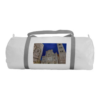 The Cathedral of Santa Maria del Fiore Gym Duffel Bag