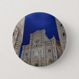The Cathedral of Santa Maria del Fiore in italy 6 Cm Round Badge