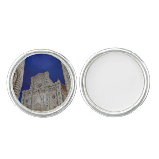 The Cathedral of Santa Maria del Fiore in italy Cufflinks