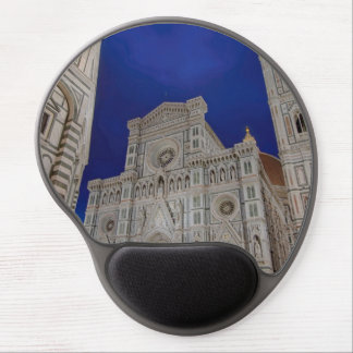 The Cathedral of Santa Maria del Fiore in italy Gel Mouse Pad