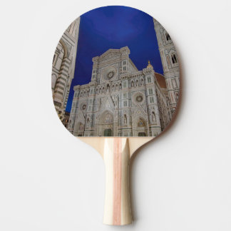 The Cathedral of Santa Maria del Fiore in italy Ping Pong Paddle