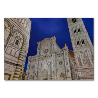 The Cathedral of Santa Maria del Fiore Table Cards