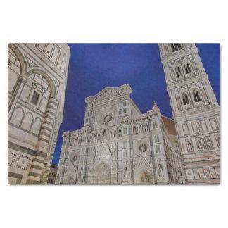 The Cathedral of Santa Maria del Fiore Tissue Paper