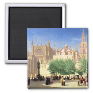 The Cathedral of Seville Magnet
