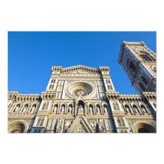 The cathedral Santa Maria del Fiore , Firenze, Photo Art
