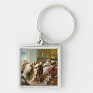 The Catholic King and Queen Keychains