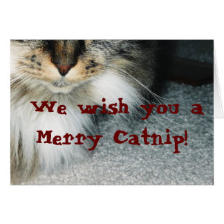 The Catnip Papers: Catnip Greeting Card