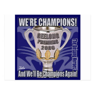The Cats - Champions 2009 Postcard