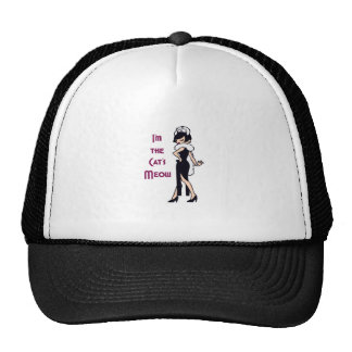 THE CATS MEOW TRUCKER HAT