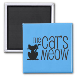 The Cat's Meow Magnet