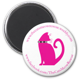 The Cat's Meow Rescue Magnet