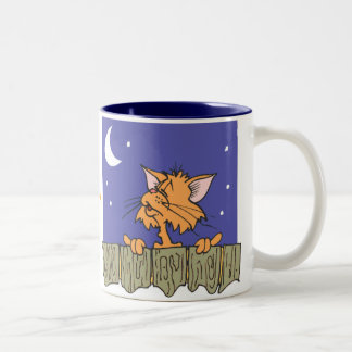 The Cats Meow Two-Tone Coffee Mug