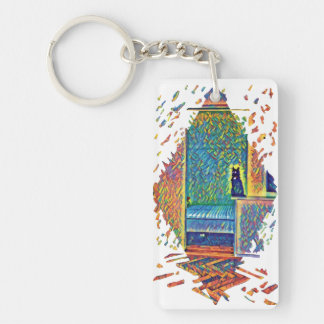 The Cats of Impressionism Key Ring