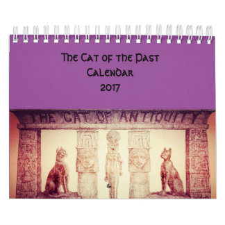 The Cats of the Past Wall Calendar