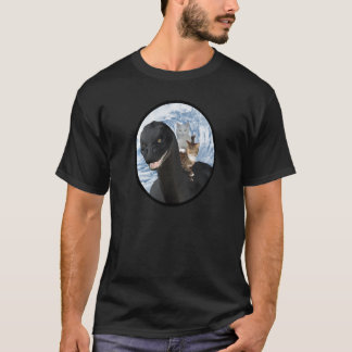 The cats riding Nessie T-Shirt