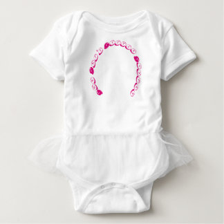 """The Cat's Sister"" Tutu Baby Bodysuit"