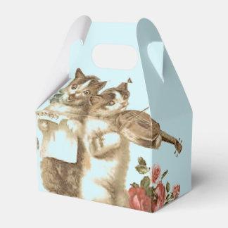 THE CATS TEA PARTY FAVOR BOX