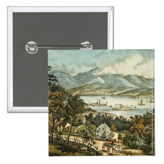 The Catskill Mountains 15 Cm Square Badge