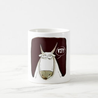 the cattle looking out meaningless funny cartoon coffee mug