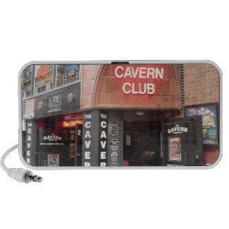 The Cavern Club in Liverpool's Mathew Street Speaker System