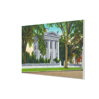The Cayuga Museum of History and Art Gallery Wrap Canvas