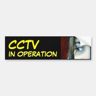 The CCTV in Operation Bumper Sticker