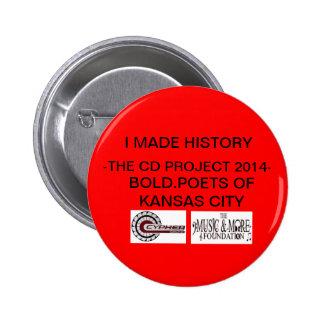 THE CD PROJECT SOUVINIR BUTTONS