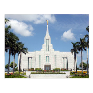 The Cebu City Philippines LDS Temple Postcard