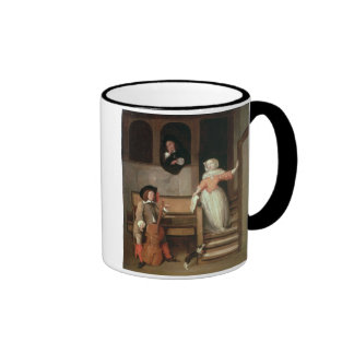 The Cello Player, c.1700 (oil on canvas) Ringer Mug