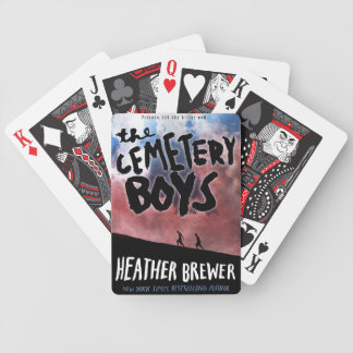 The Cemetery Boys Playing Cards