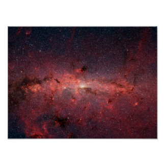 The center of the Milky Way Galaxy Poster