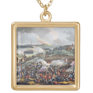 The Centre of the British Army in Action at the Ba Gold Plated Necklace
