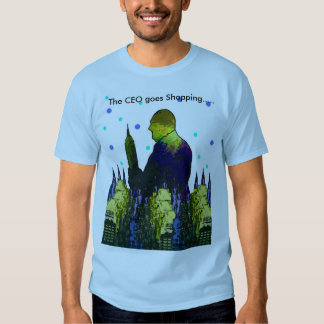 """""""The CEO goes Shopping"""" Men's T-Shirt"""