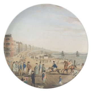 The Chain Pier at Brighton with Characters (etchin Plates