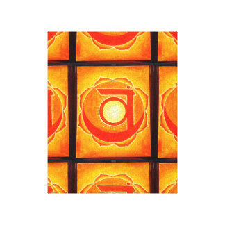 The Chakras - Sacral Chakra Canvas Print/Art