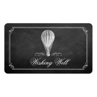 The Chalkboard Hot Air Balloon Wedding Collection Pack Of Standard Business Cards