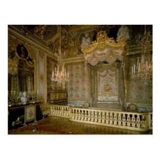 The Chambre de la Reine (Queen's Bedroom) (photo) Postcard