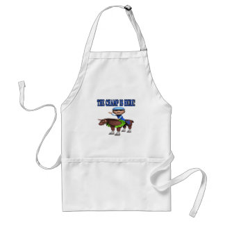 The Champ Is Here Apron