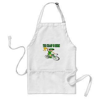 The Champ Is Here Aprons