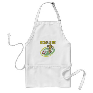 The Champs Are Here Standard Apron