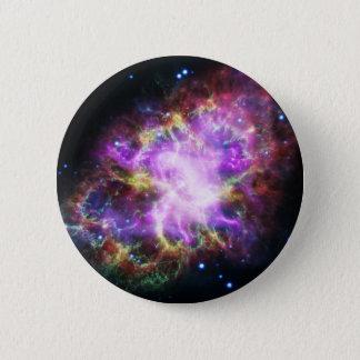 The Chandra X-ray in the Crab Nebula 6 Cm Round Badge