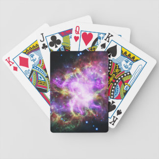 The Chandra X-ray in the Crab Nebula Bicycle Playing Cards