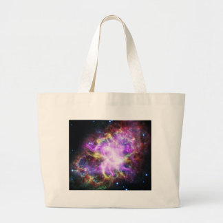 The Chandra X-ray in the Crab Nebula Large Tote Bag
