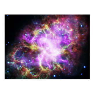 The Chandra X-ray in the Crab Nebula Postcard